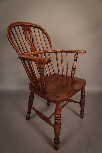 Ash & Elm Windsor Chair c.1860 (1 of 1)
