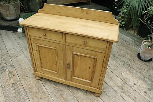 Small! Old Pine Dresser Base / Sideboard / Cupboard / Cabinet / TV Stand - We Deliver! (1 of 8)