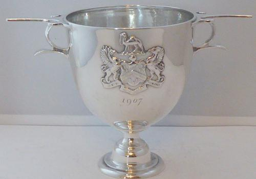 Worshipful Company of Grocers 1906 Hallmarked Solid Silver Mug Cup Challis (1 of 1)