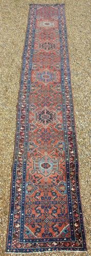 Antique Malayir Runner Carpet 5M (1 of 5)