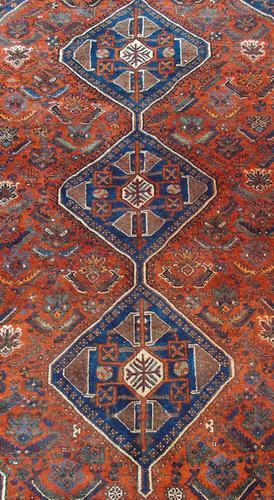 Antique Kashgai Carpet Room Size (1 of 4)