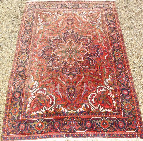 Heriz Carpet Room Size c.1930 (1 of 7)