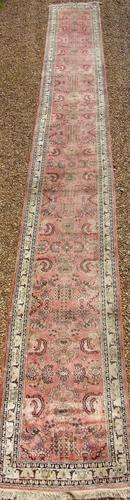 Antique Silk Runner Carpet 7m (1 of 6)