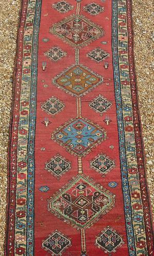 Antique Sarab Runner Carpet (1 of 5)