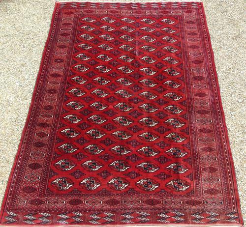 Antique Tekke Turkman Carpet Room Size (1 of 7)