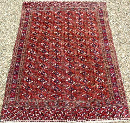Antique Tekke Turkman Carpet Room Size (1 of 6)