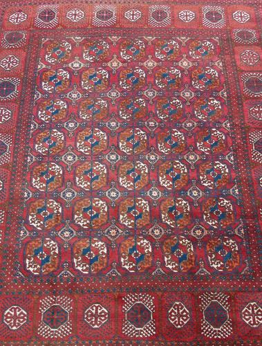 Turkoman Carpet Room Size c.1930 (1 of 7)