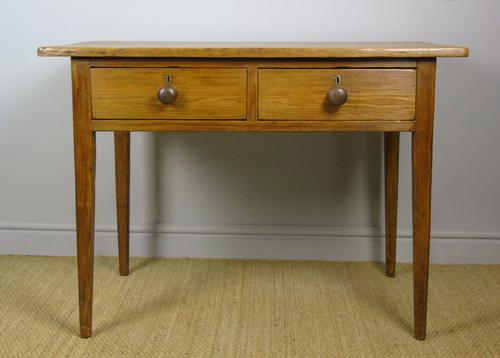Early Victorian Antique Pine Table (1 of 8)