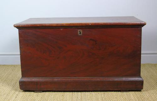 Antique Pine Scumbled Box Coffee Table Trunk (1 of 9)