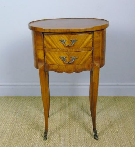 Neat Antique French Cabinet Lamp / Side Table Bedside (1 of 6)