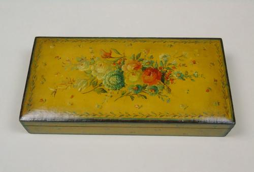 Antique Hand Painted Jewellery Box 19th Century (1 of 8)
