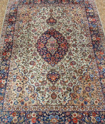 Antique Kashan Carpet Room Size (1 of 9)