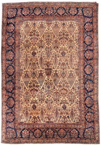 Beautiful Saroukh Carpet Room Size c.1920 (1 of 1)