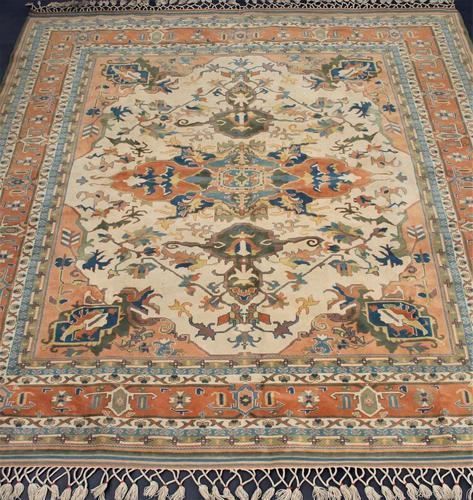 Beautiful Ushak Carpet Room Size (1 of 1)