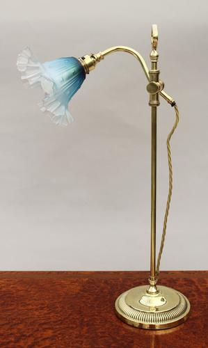 Antique Adjustable Table Lamp c.1910 (1 of 1)