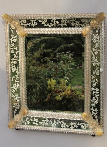 Beautiful Antique Venetian Mirror c.1880 (1 of 1)
