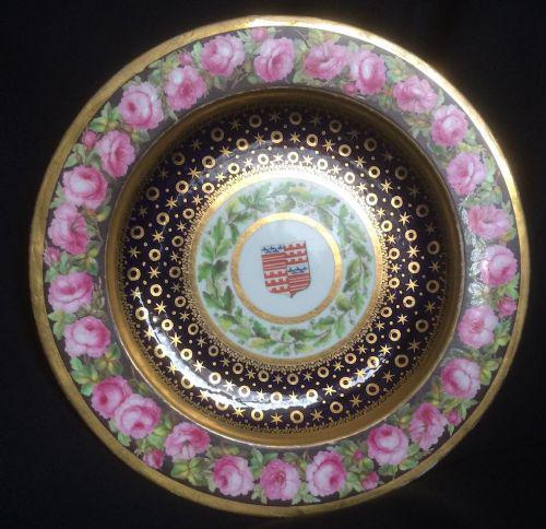 Very Rare Pendock Barry Derby Dinner Plate 1798 (1 of 3)