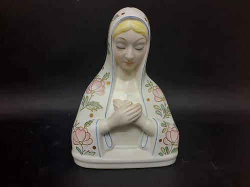 Lenci Porcelain Bust of the Madonna (1 of 6)