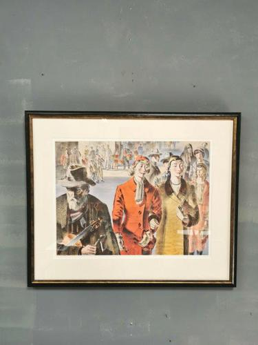 Limited Edition Framed Lithograph Print by Barnett Freedman (1 of 9)