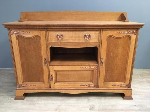 English Oak Arts & Crafts Sideboard (1 of 7)