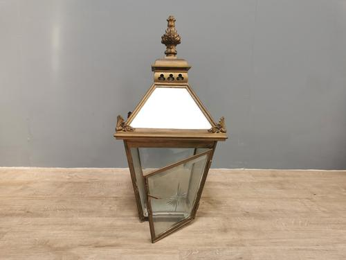 Late Victorian Brass Lantern (1 of 4)