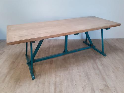 Large Industrial Refectory Table (1 of 7)