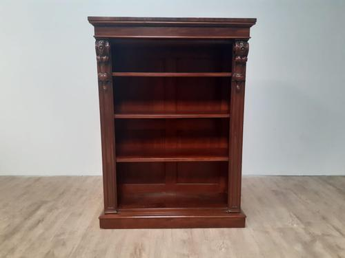 Victorian Open Bookcase c.1860 (1 of 7)