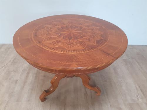 Walnut Sorrento Coffee Table c.1880 (1 of 5)