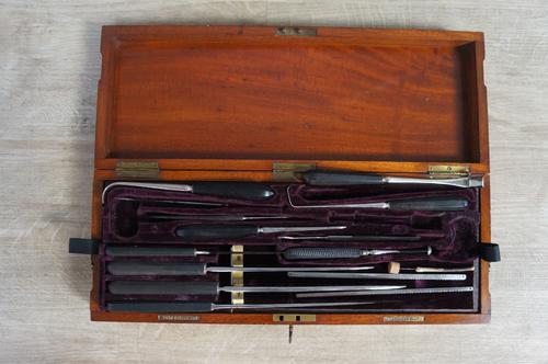 Extensive Victorian Surgical Set (1 of 5)