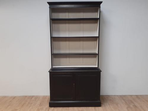 Painted Pine Library Bookcase c.1920 (1 of 7)