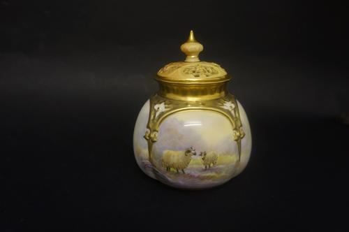 Royal Worcester Potpourri Vase (1 of 5)