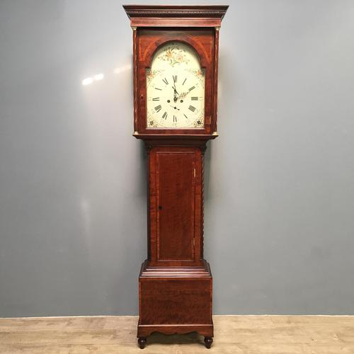 Early Victorian Mahogany Longcase Clock (1 of 9)