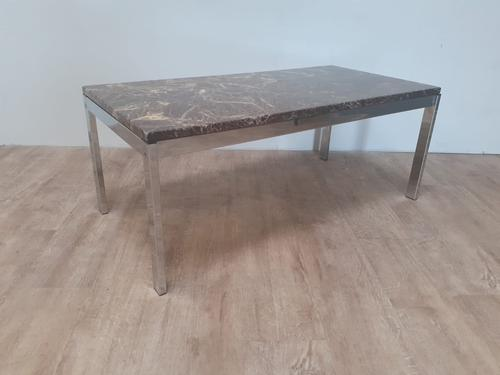 Marble Top Mid Century Coffee Table (1 of 5)