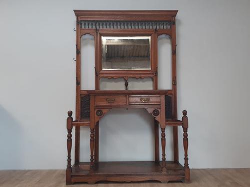 Victorian Oak Hallstand c.1870 (1 of 6)
