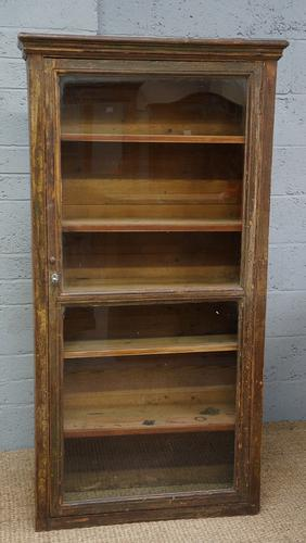 Vintage Painted Glazed Bookcase (1 of 1)