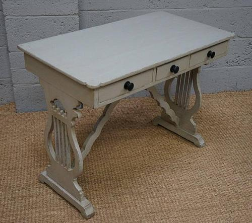 19th Century Painted Pine 'Lyre End' Washstand (1 of 1)