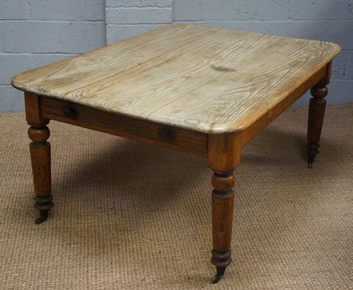 Vintage Elm & Pine Kitchen Table (1 of 1)
