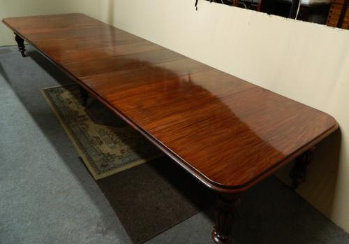 18' Extending Mahogany Dining Table (1 of 8)