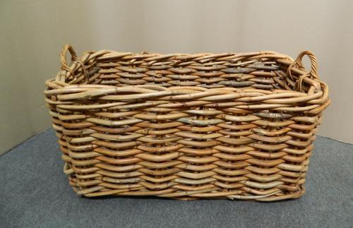 Very Large Wicker Basket c.1920 (1 of 1)
