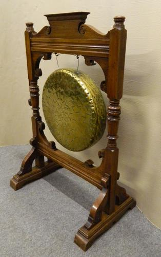 Large Dinner Gong c.1890 (1 of 1)