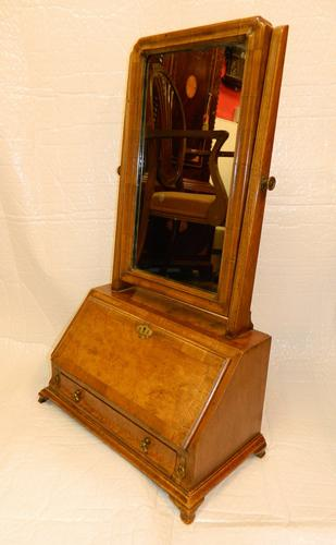 Walnut Toilet Mirror / Dressing Mirror c.1870 (1 of 1)