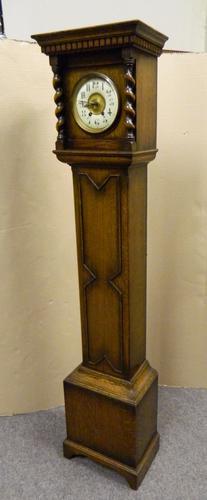 Oak Grandmother Clock c.1920 (1 of 1)