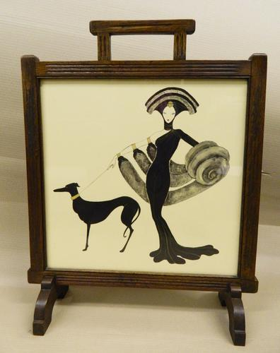 Exquisite Art Deco Firescreen (1 of 1)