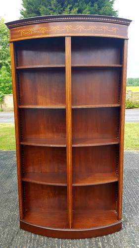 Regency Design Bow Front Bookcase (1 of 1)