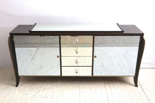 Italian Mirrored Sideboard c.1950 (1 of 1)