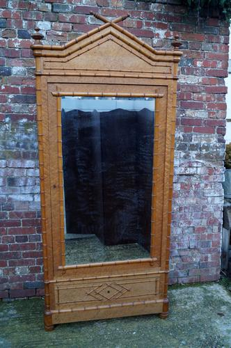 Faux Bamboo Armoire (1 of 1)