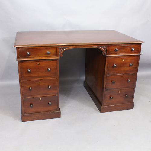 Mahogany Partners Desk c.1840 (1 of 1)
