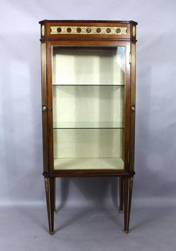 Swedish Mahogany Display Cabinet c.1904 (1 of 1)