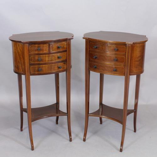 Pair of Edwardian Bedside Cabinets (1 of 1)