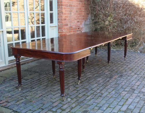 Mahogany Dining Table c.1825 (1 of 1)